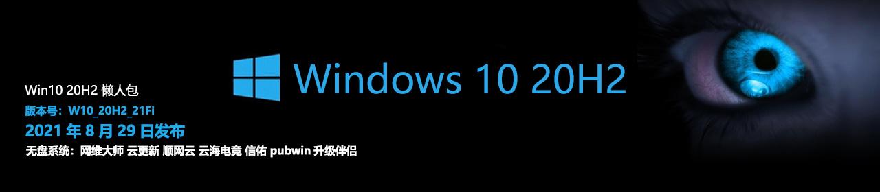 Windows 10 20H2 21Fi 懒人包
